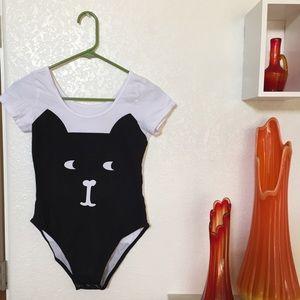 Meowingtons cat bodysuit